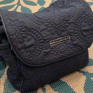 Petunia Pickle Bottom Navy Diaper Bag 💙